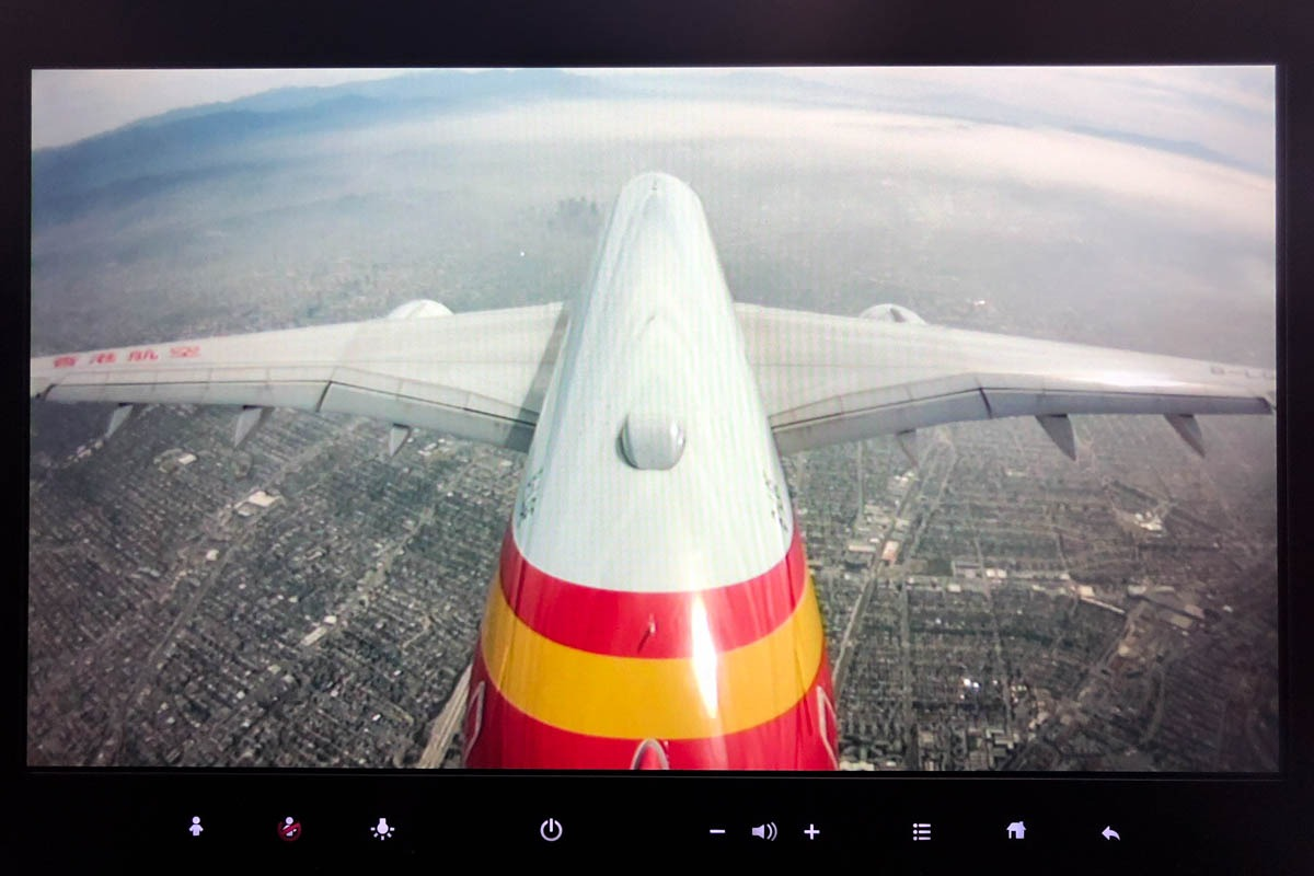 Hong Kong Airlines Airbus A350 Tail Camera