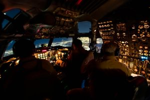 NASA DC-8 Cockpit
