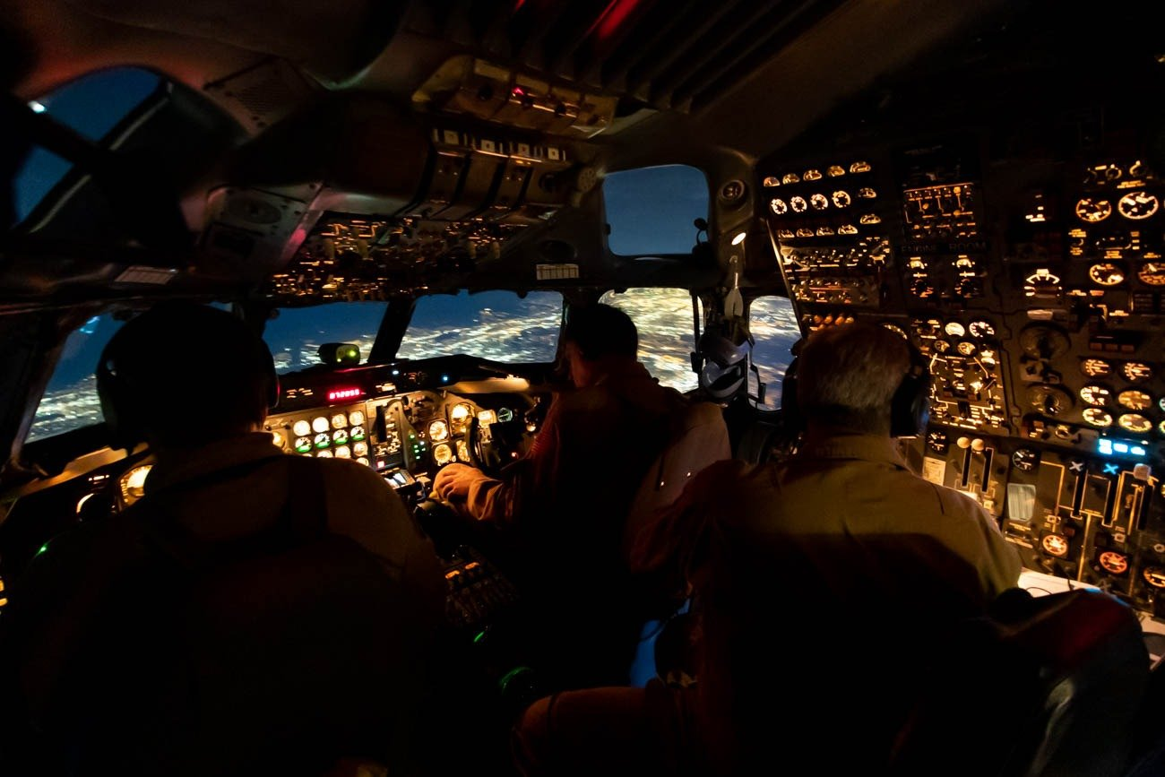 NASA DC-8 Cockpit