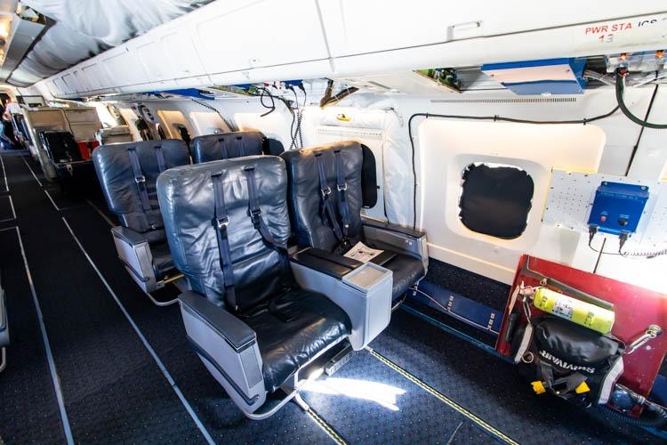 NASA DC-8 Seats