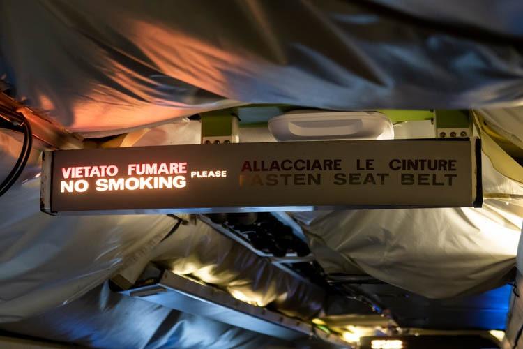 NASA DC-8 No Smoking Sign