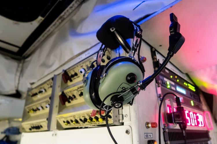 NASA DC-8 Headset