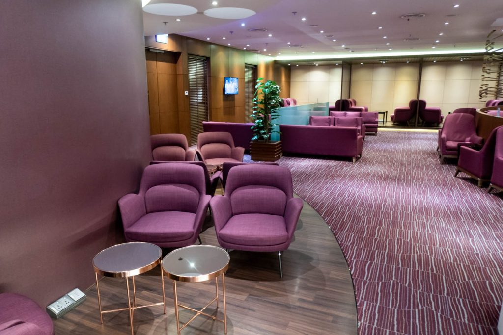 Thai Airways Royal Orchid Lounge at Changi Airport