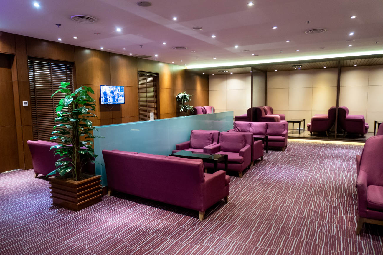 Thai Airways Royal Orchid Lounge at Singapore Changi Airport