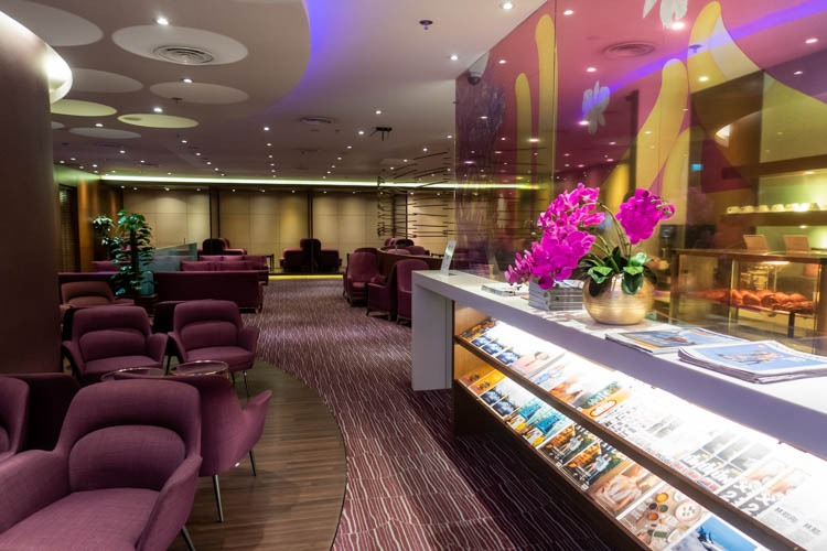 Thai Airways Royal Orchid Lounge Singapore Overview