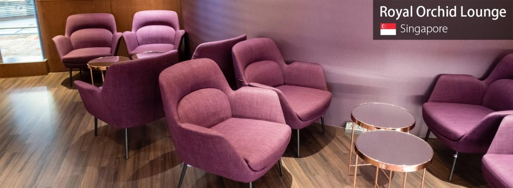 Review: Thai Airways Royal Orchid Lounge at Singapore Changi Airport