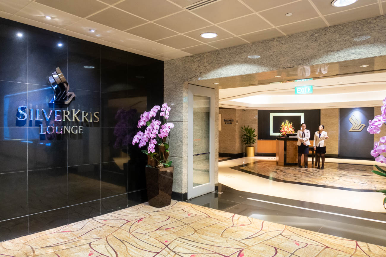 Singapore Airlines SilverKris Lounge in Changi Airport Terminal
