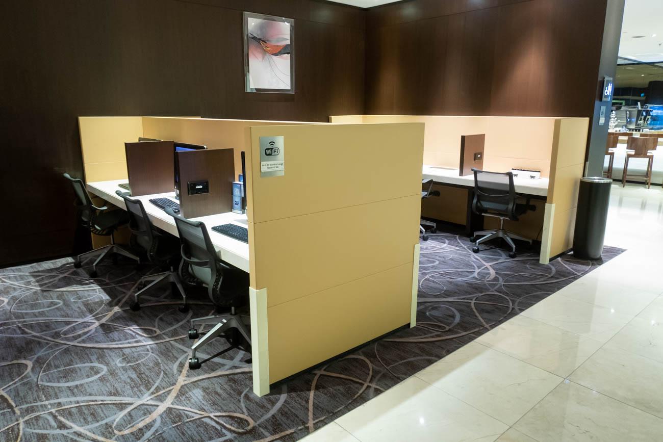 SilverKris Lounge Business Center