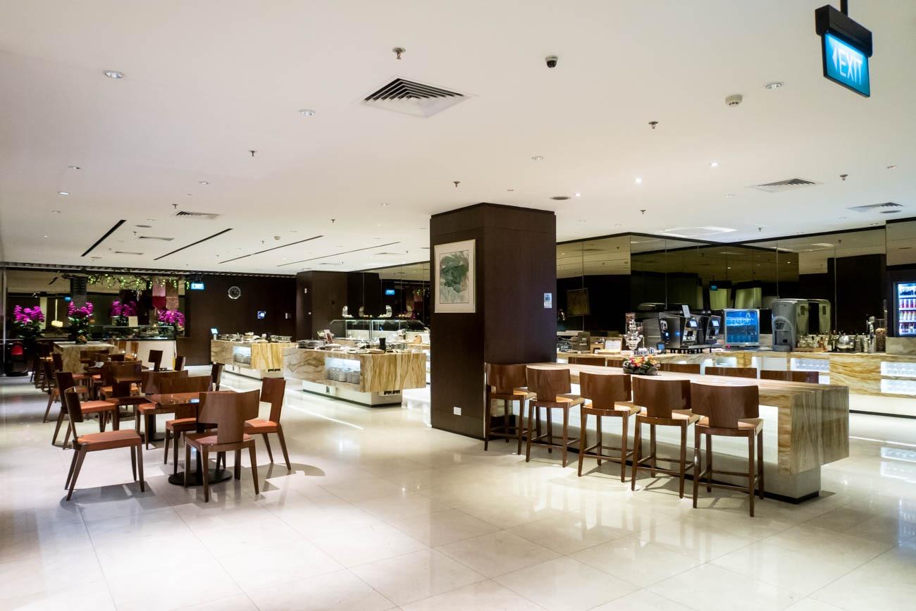 SilverKris Lounge Changi Terminal 2 Dining Area