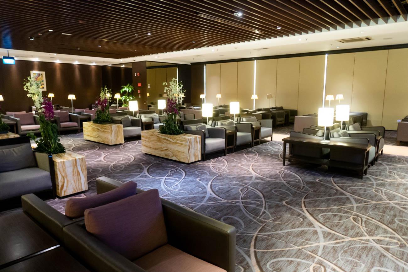 SilverKris Lounge Changi Terminal 2 Seating Area