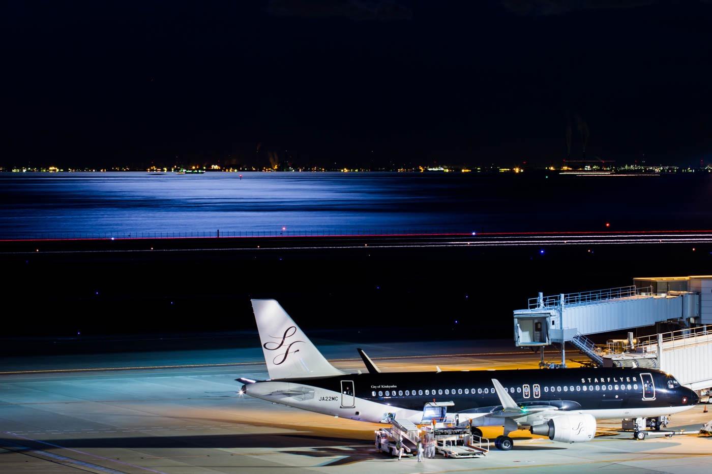 StarFlyer Airbus A320-200 at Tokyo Haneda Airport