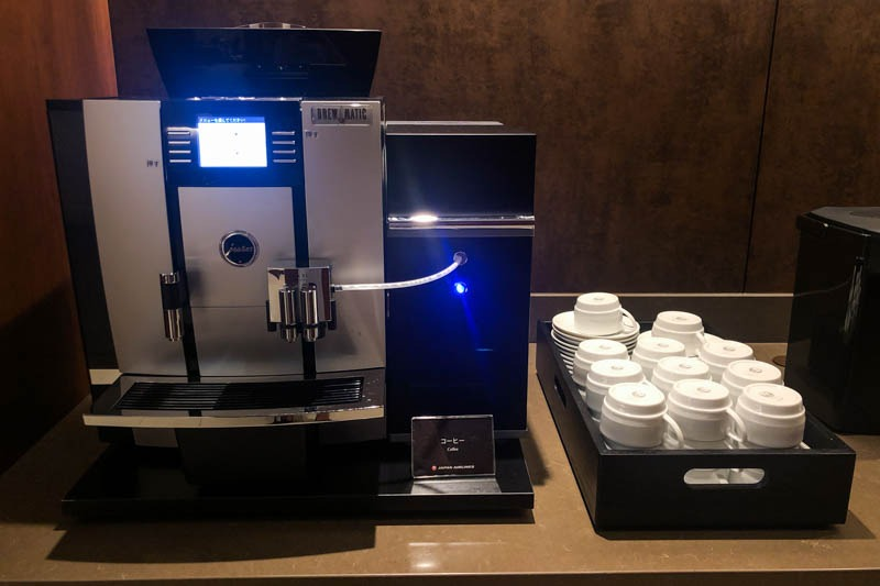 JAL Sakura Lounge Okayama Coffee