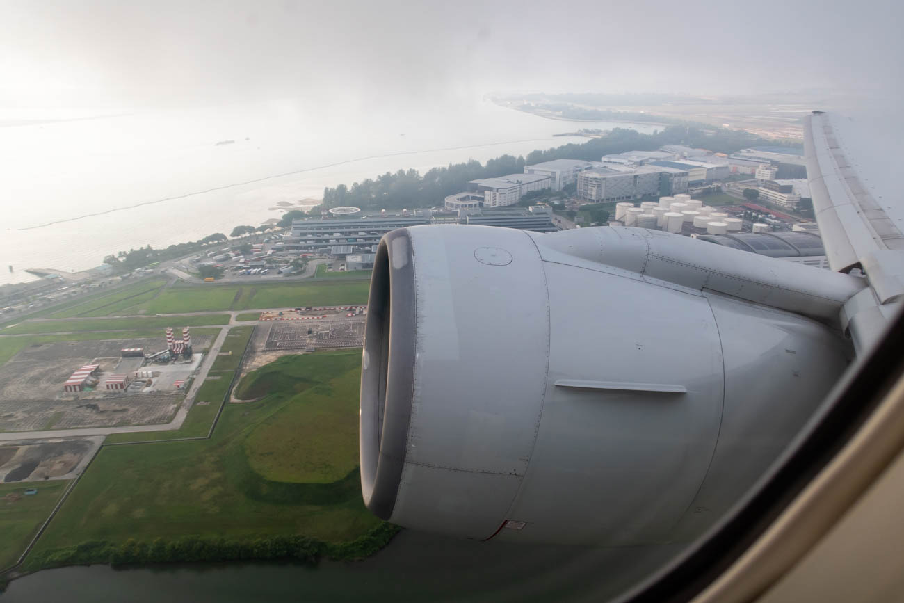 Take-Off from Singapore Airport