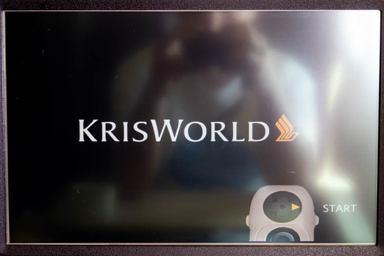 Singapore Airlines KrisWorld In-Flight Entertainment System