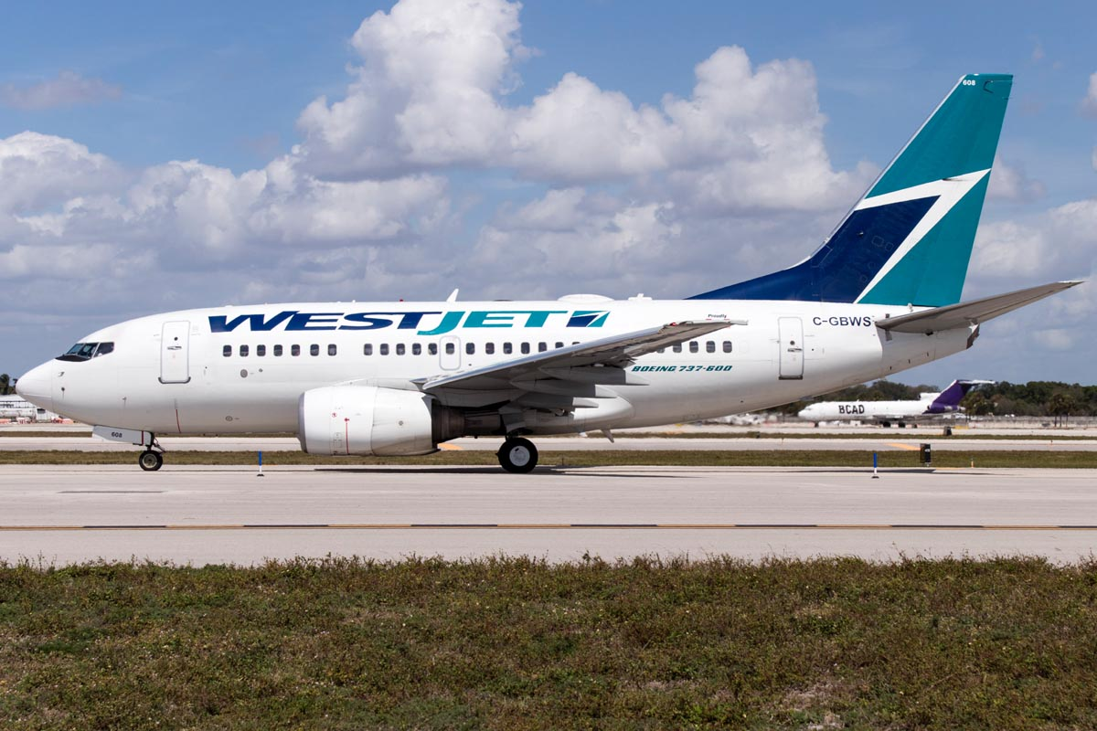 Boeing 737-600 Range