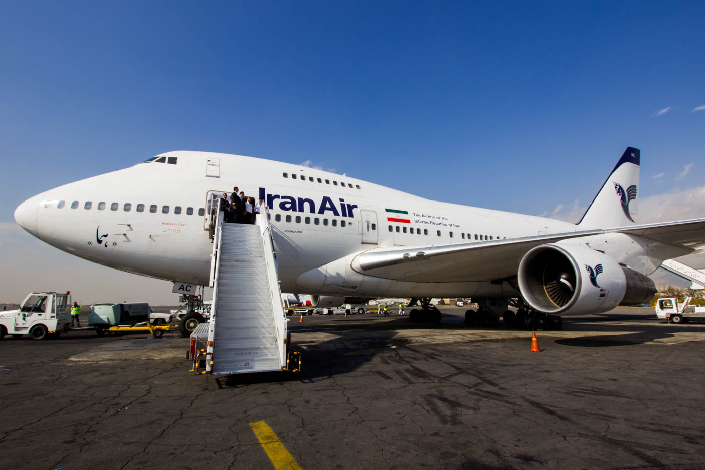 Iran Air Boeing 747SP