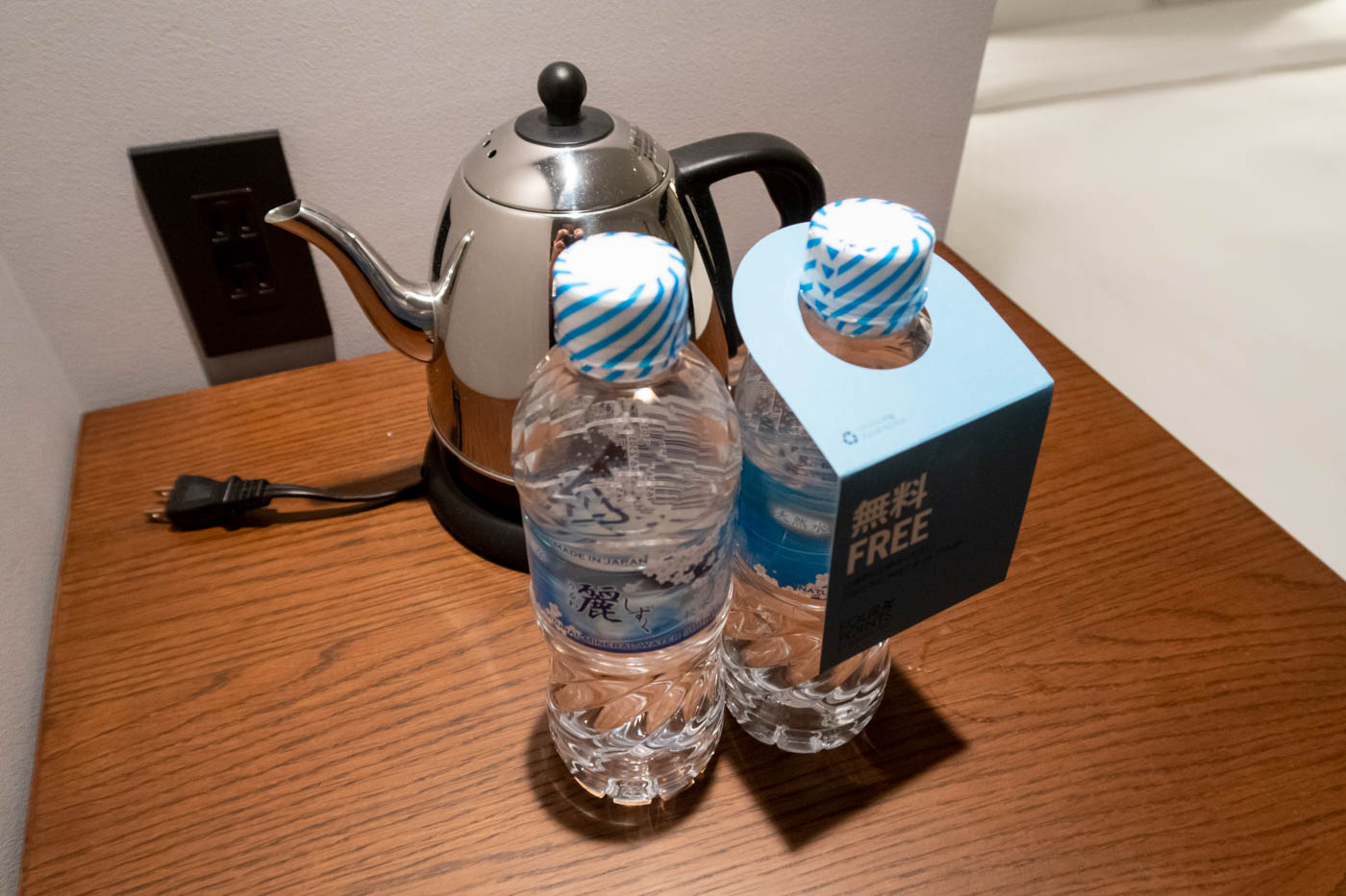 Four Points by Sheraton Nagoya Centrair Complimentary Water