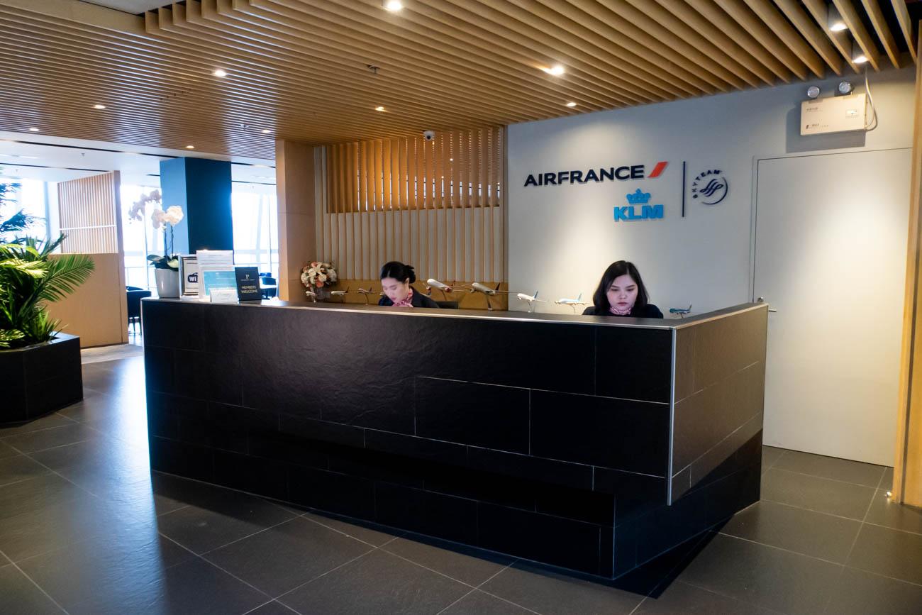 Review: Air France-KLM Lounge at Bangkok Suvarnabhumi Airport