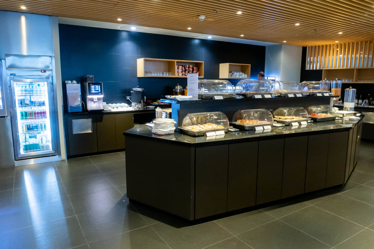 Air France-KLM Lounge Bangkok Buffet