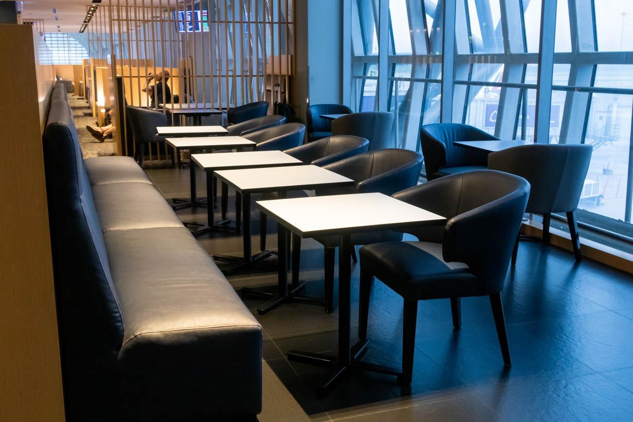 Air France-KLM Lounge Bangkok Dining Area