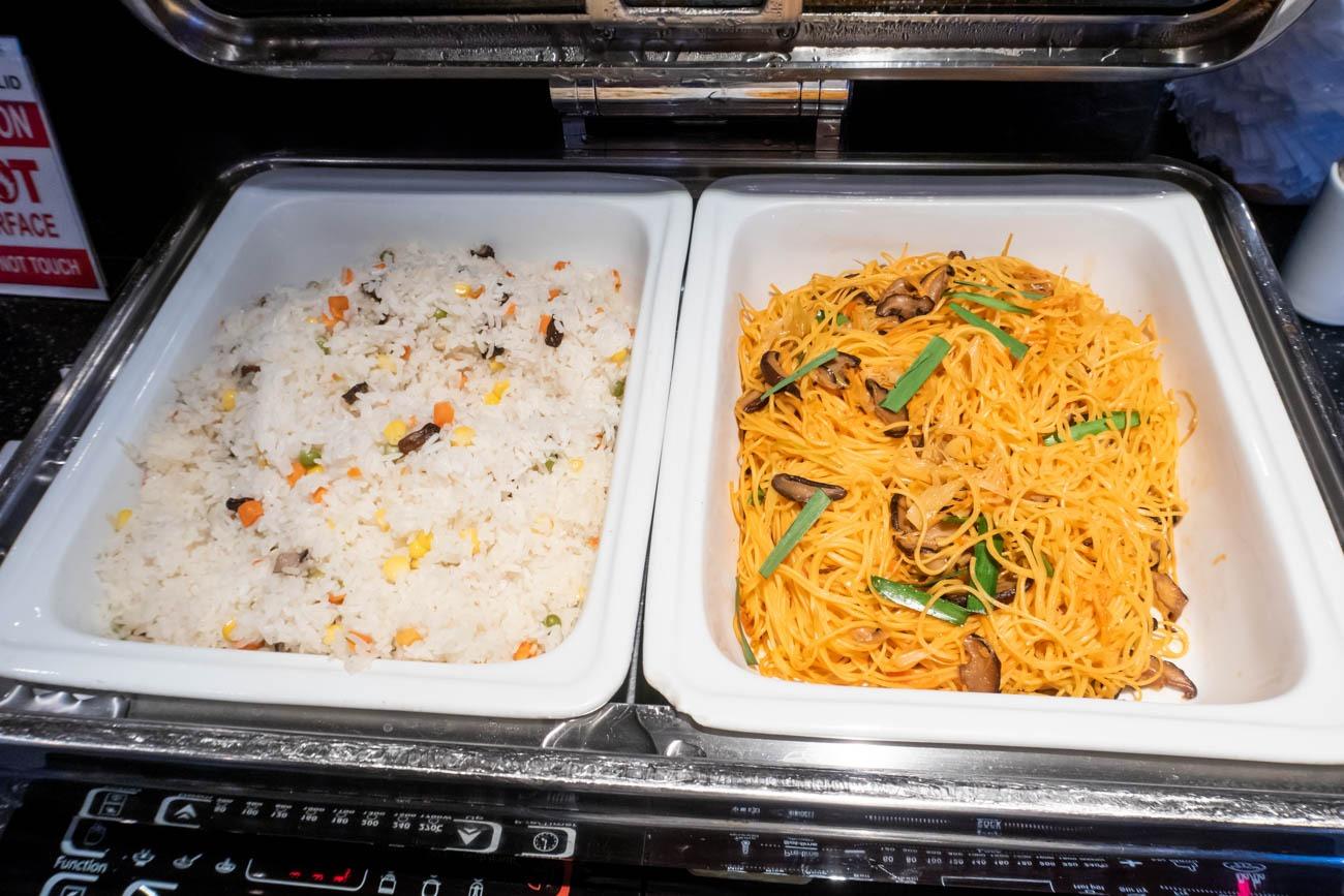 Air France-KLM Lounge Bangkok Lunch