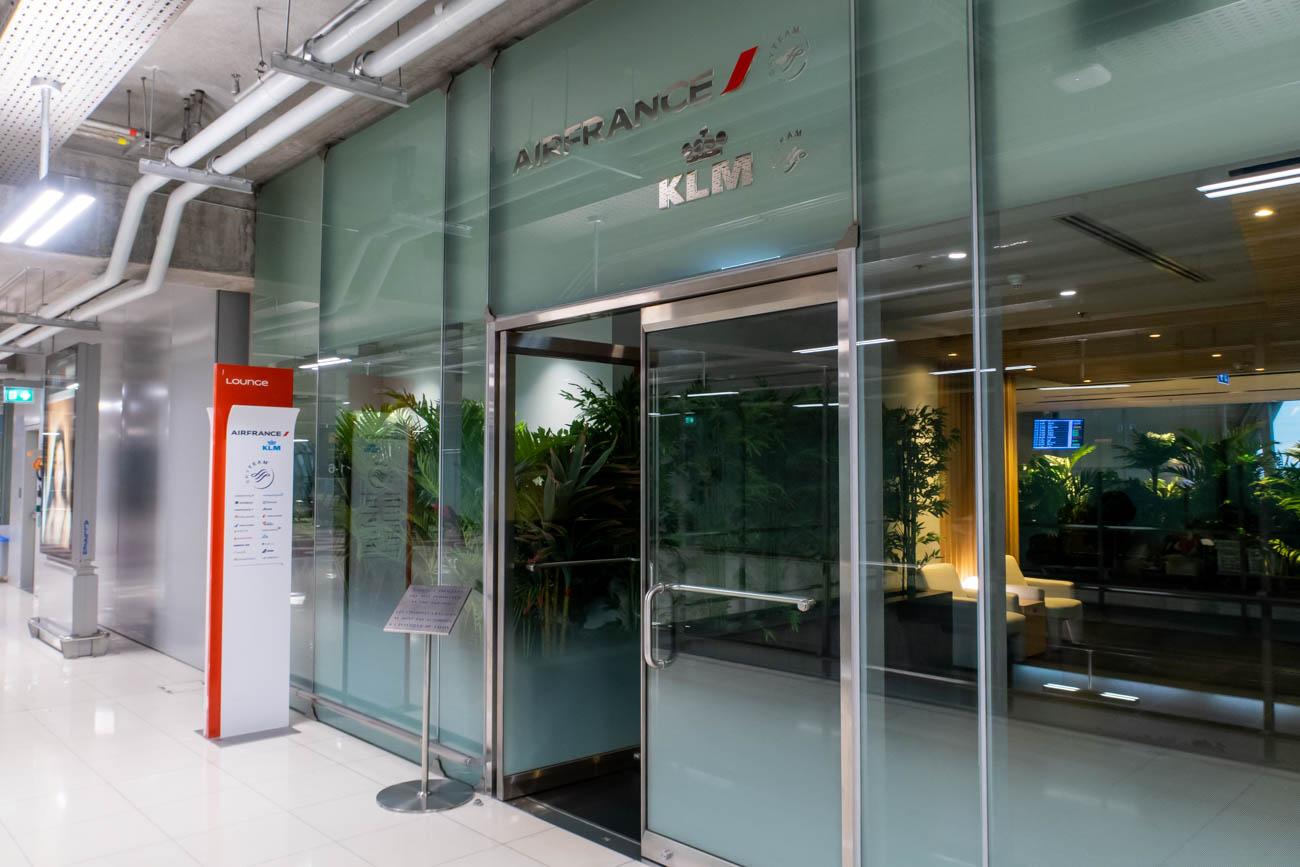 Air France-KLM Lounge Bangkok Entrance