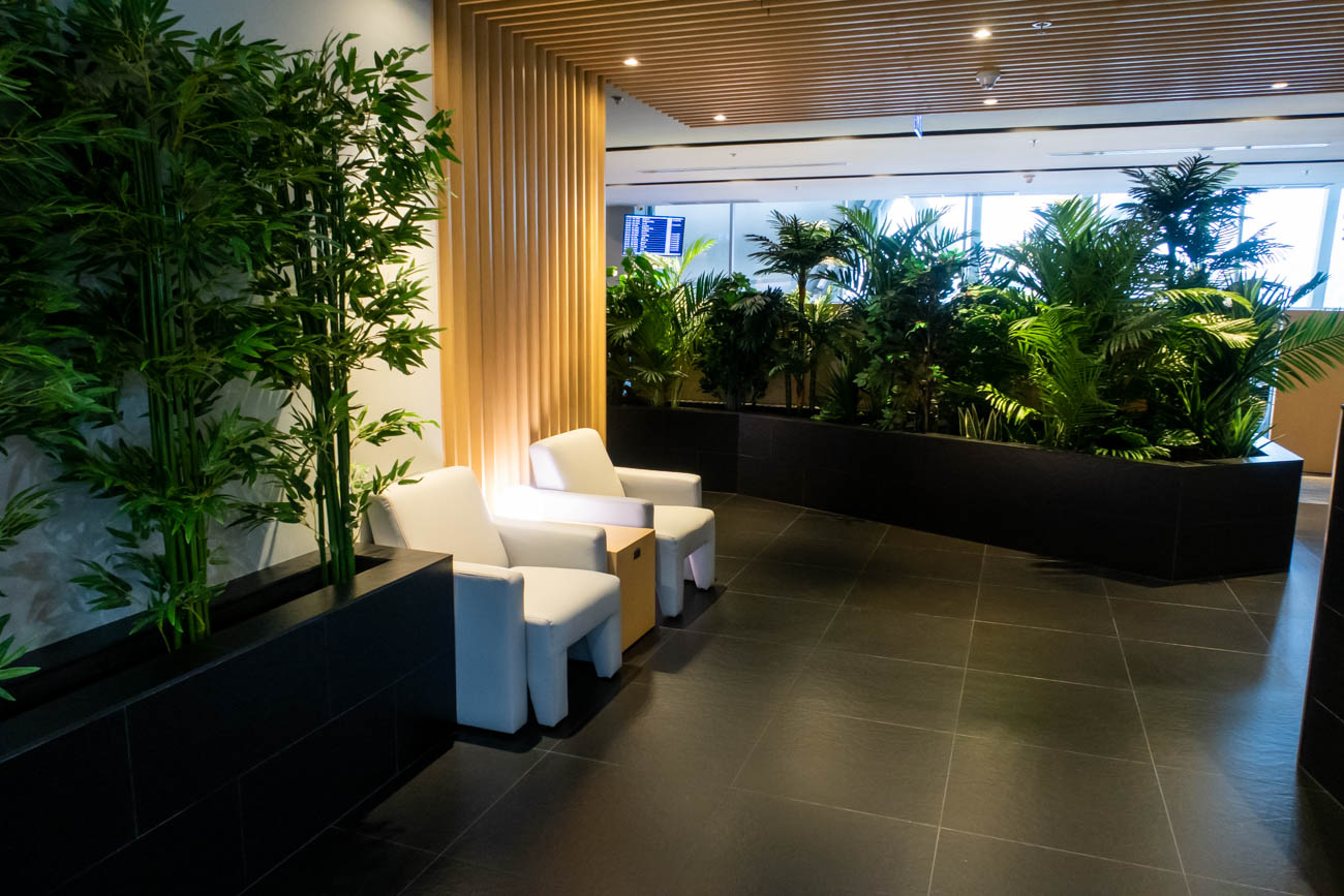 Air France-KLM Lounge Bangkok Reception