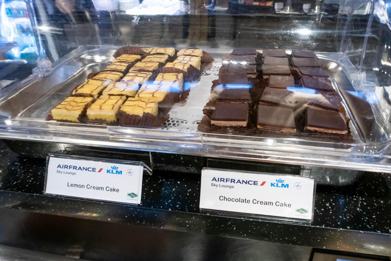Air France-KLM Lounge Bangkok Desserts