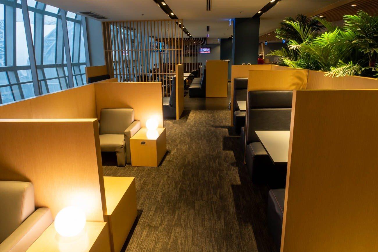 Air France-KLM Lounge Bangkok Seating