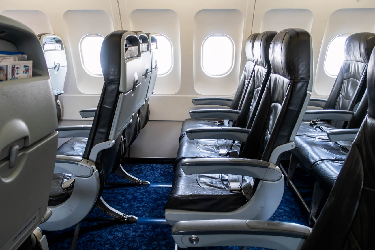 Bangkok Airways Airbus A320 Economy Class Seat