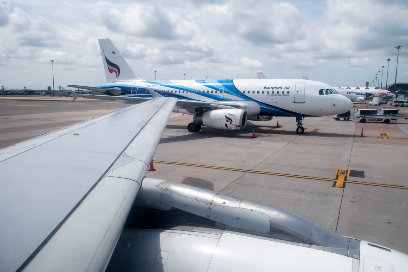 Bangkok Airways Departure from Bangkok