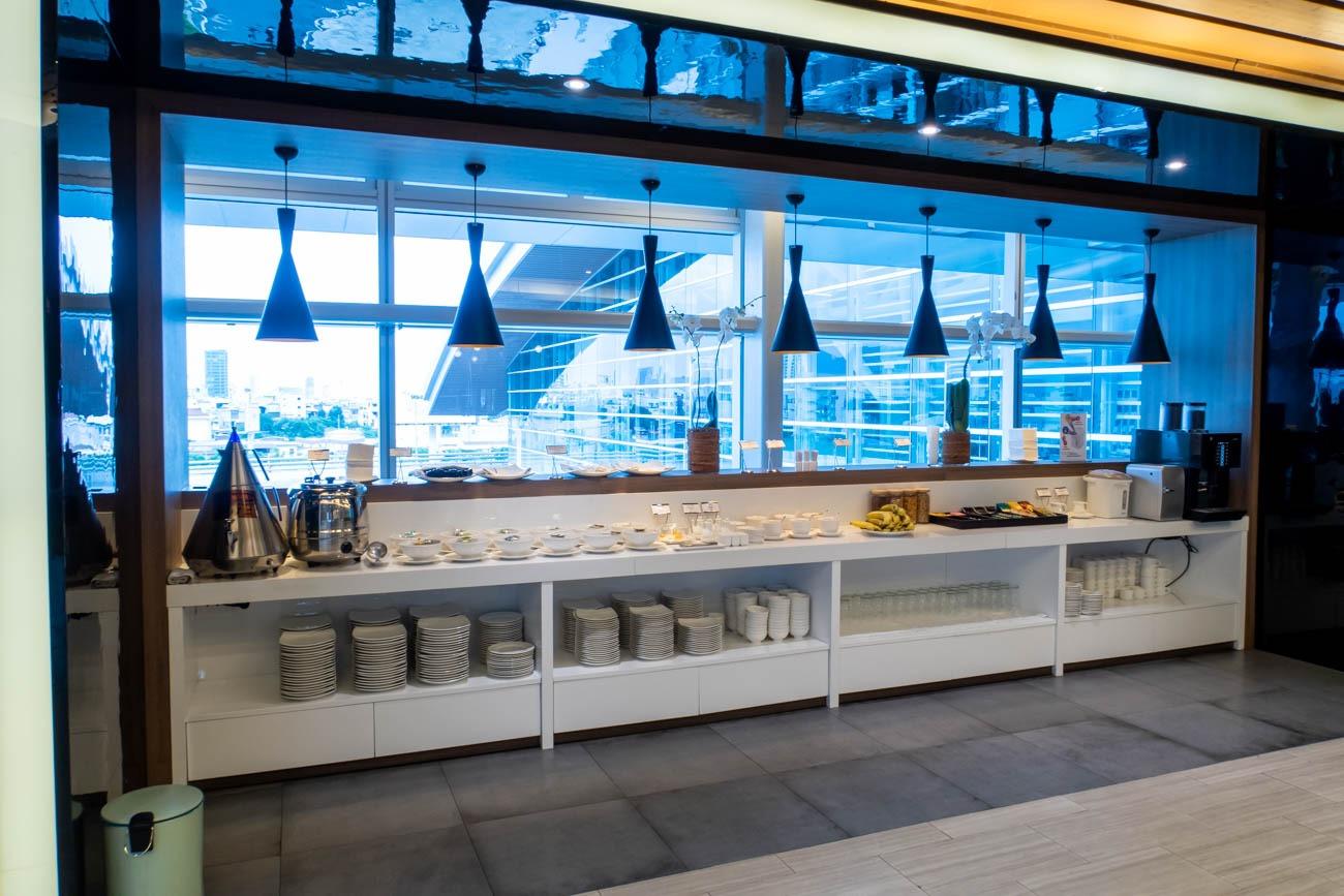 CIP Orchid Lounge Da Nang Buffet