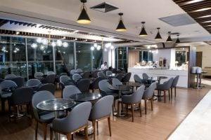 Turkish Airlines Lounge Bangkok Dining Area