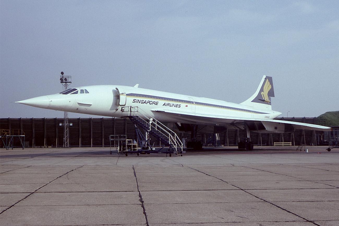 Singapore Airlines Concorde