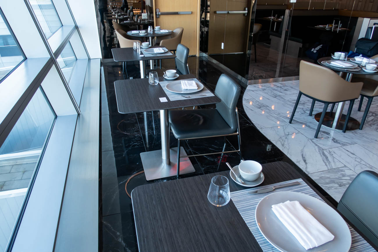 American Airlines Flagship First Dining at JFK Restaurant