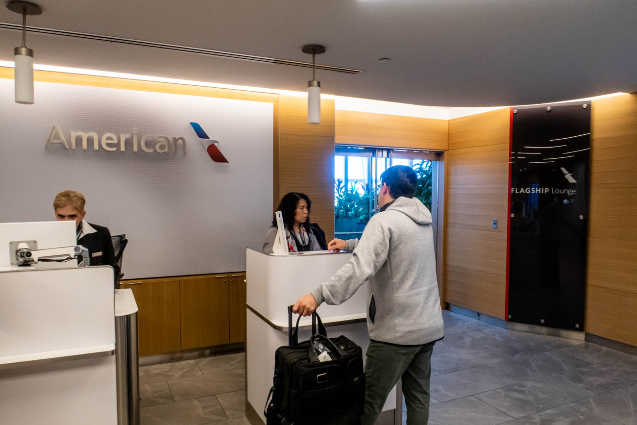American Airlines Flagship Lounge New York JFK Review