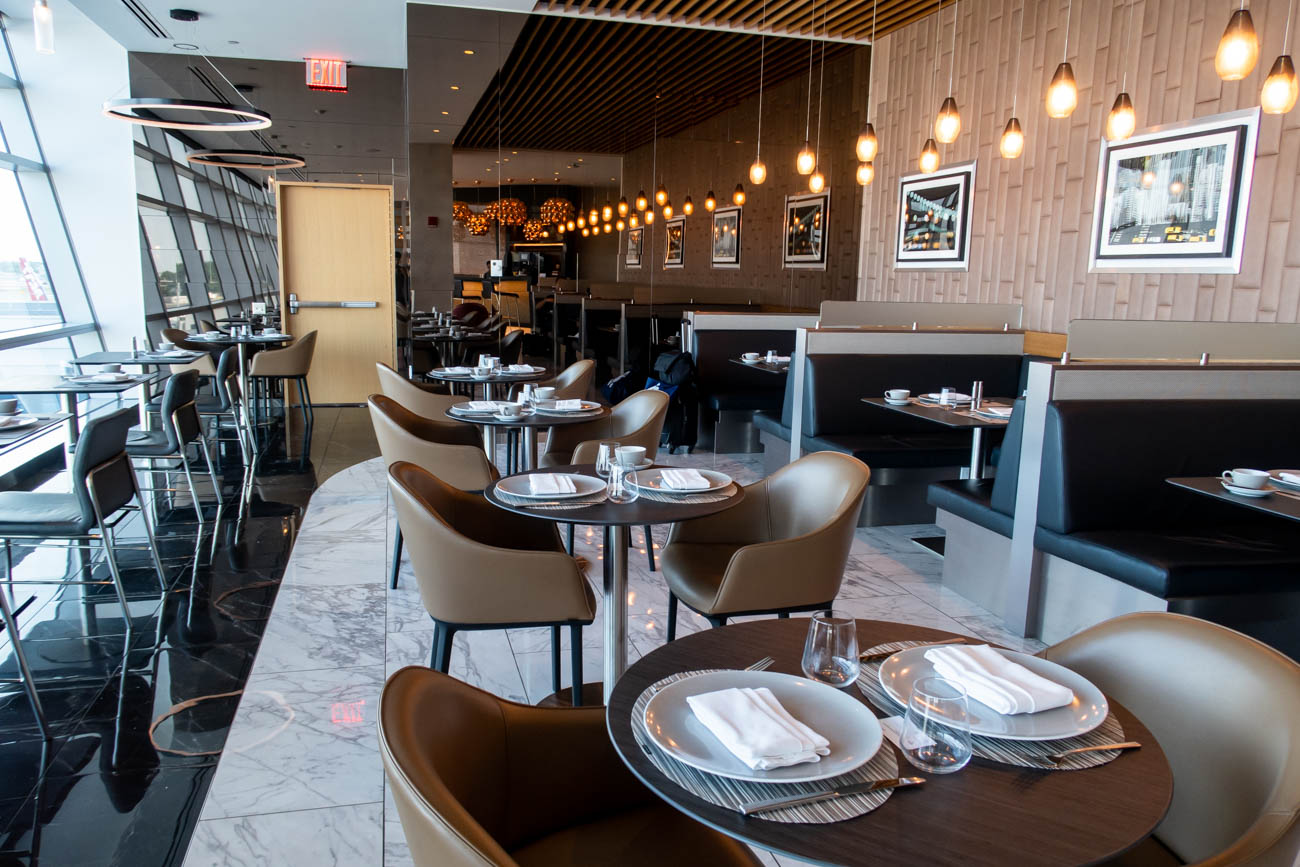 American Airlines Flagship First Dining at JFK Overview