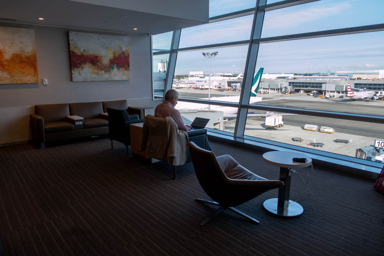 American Airlines Flagship Lounge at JFK