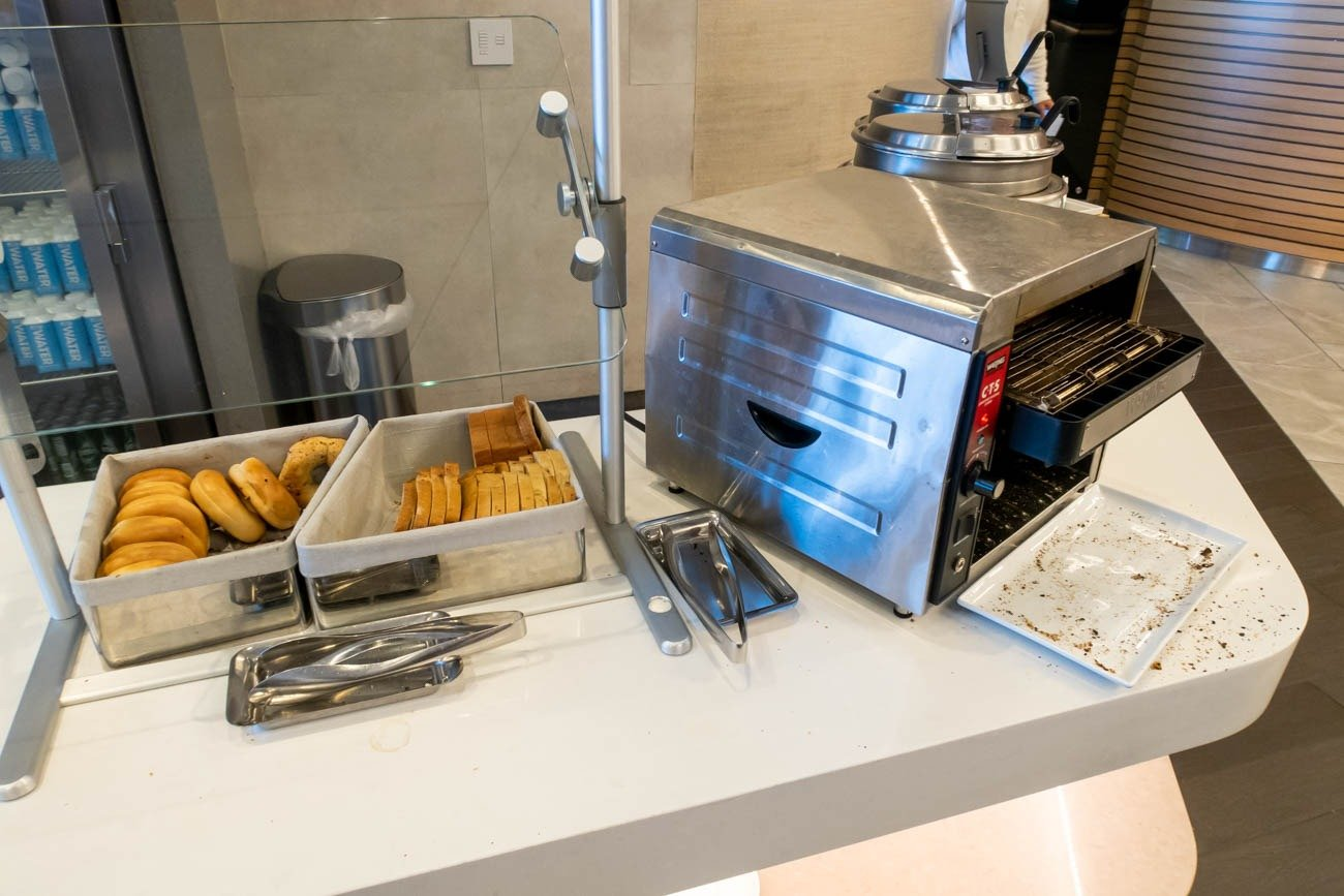 Bread in American Airlines Flagship Lounge at JFK
