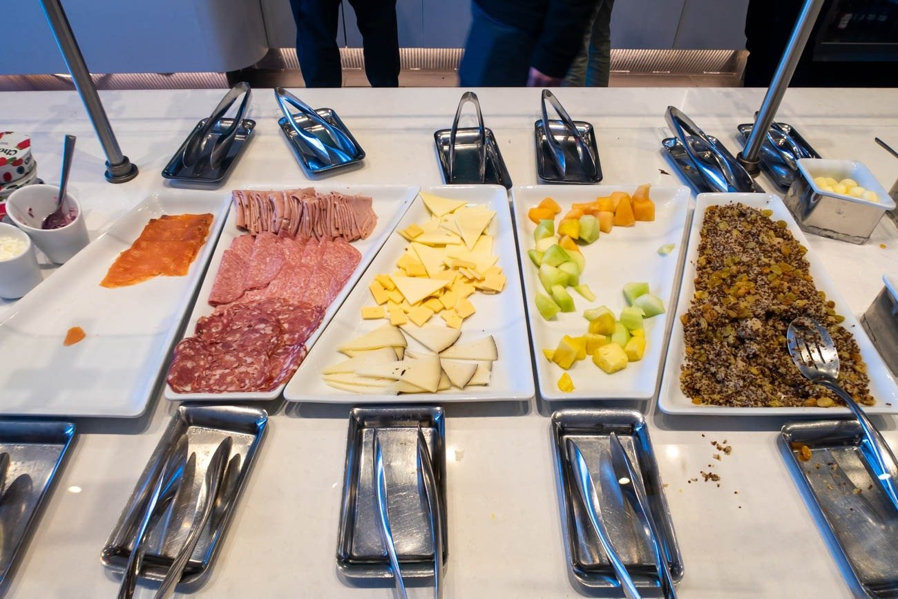 Cold Cuts in American Airlines Flagship Lounge at JFK