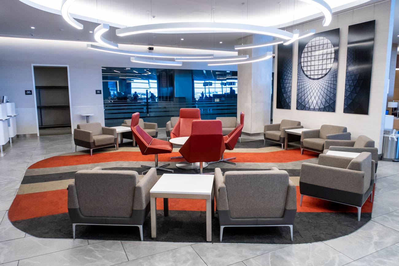 American Airlines Flagship Lounge at JFK Seating