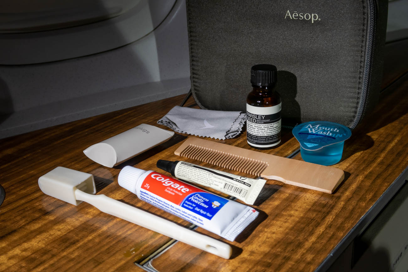 Cathay Pacific Aesop First Class Amenity Kit