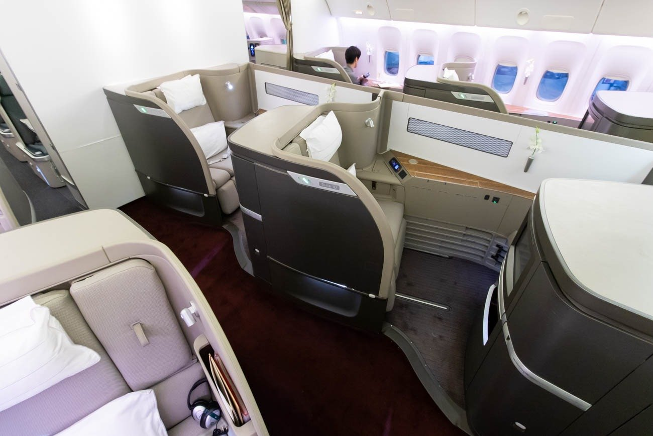 Cathay Pacific 777-300ER First Class