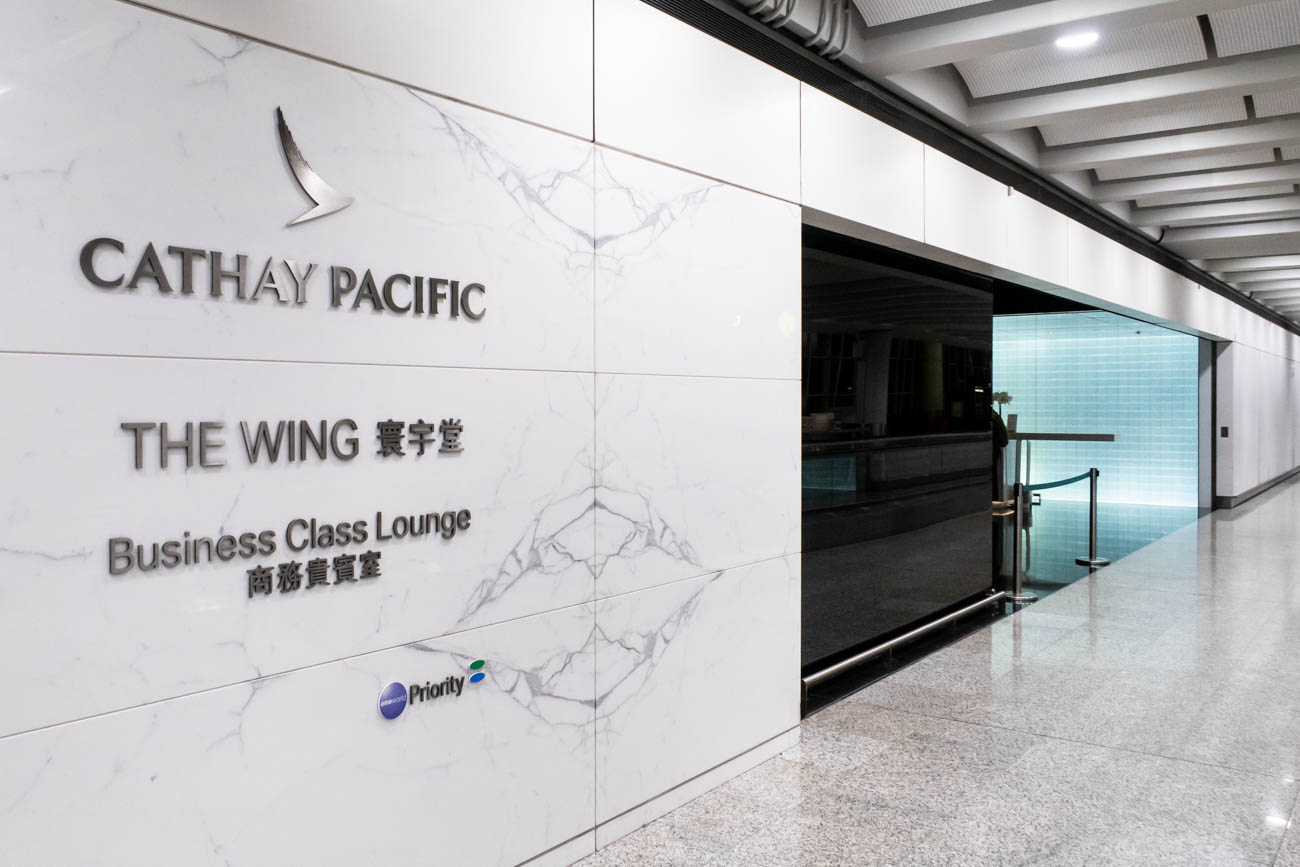 "Review: Cathay Pacific ""The Wing, First"" Lounge at Hong Kong Airport"