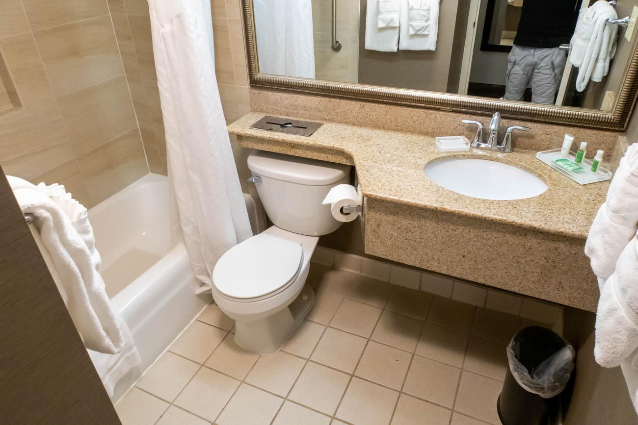 Holiday Inn Washington - Dulles Bathroom