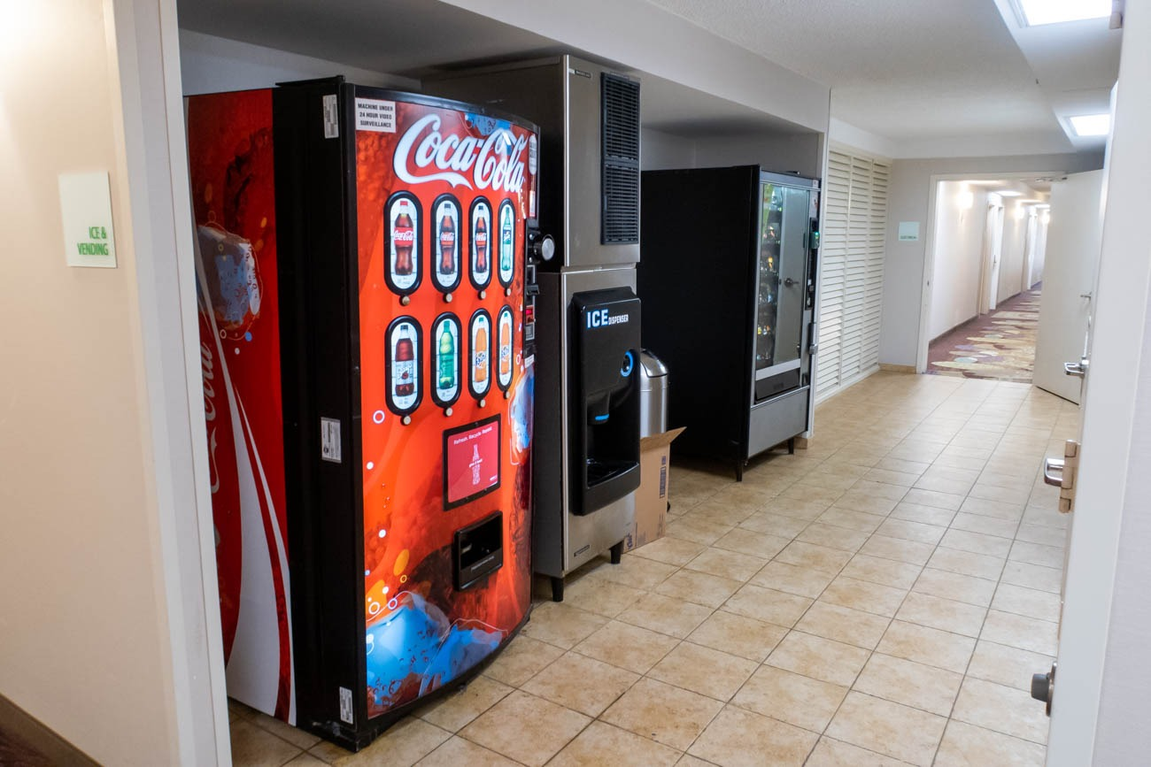 Holiday Inn Washington - Dulles Airport Vending Machines