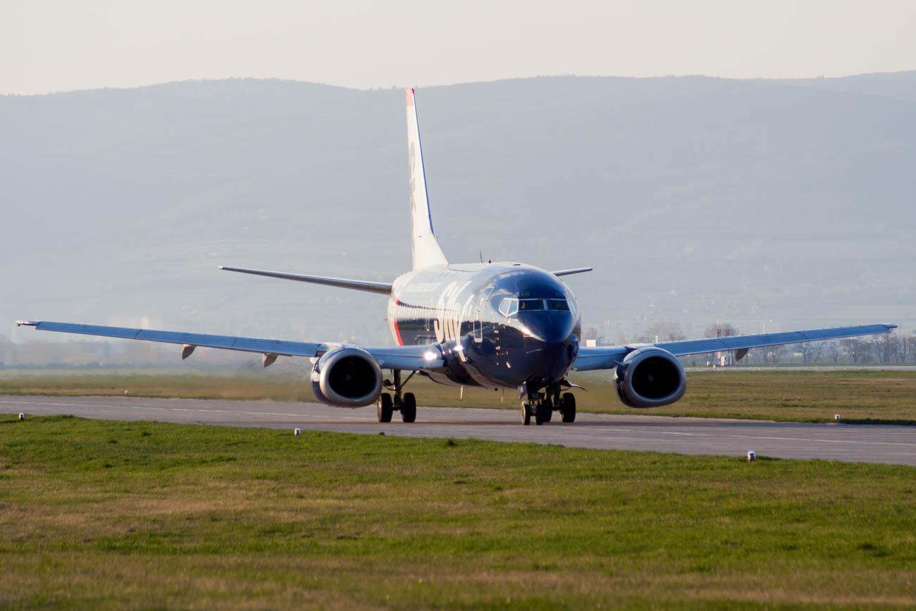 SkyEurope Boeing 737-500