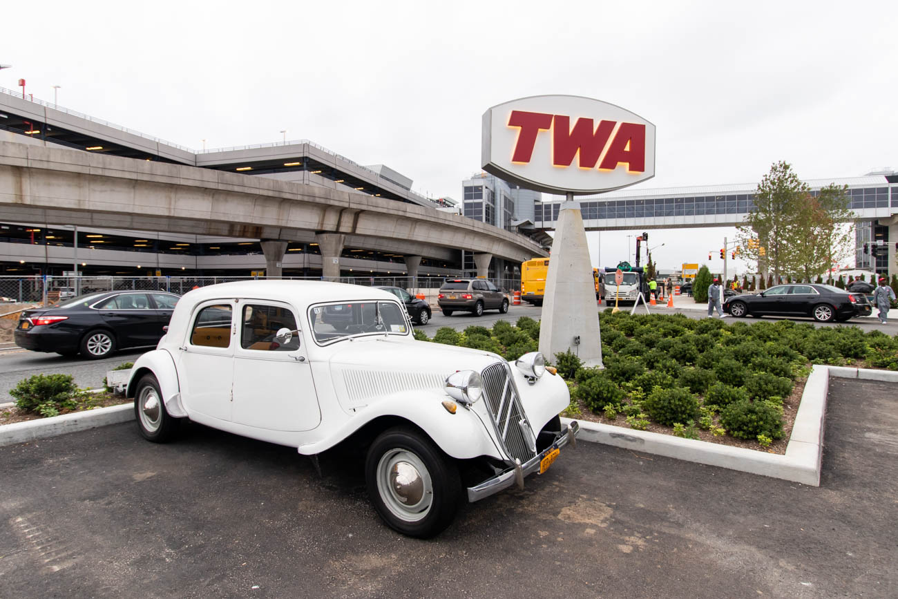 TWA Hotel Retro Car