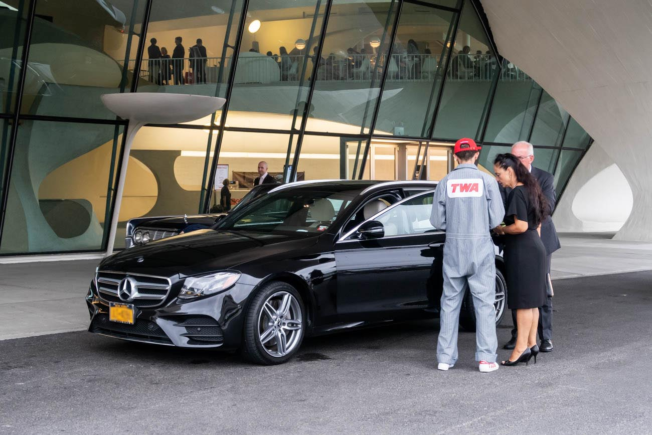 TWA Hotel Valet Parking