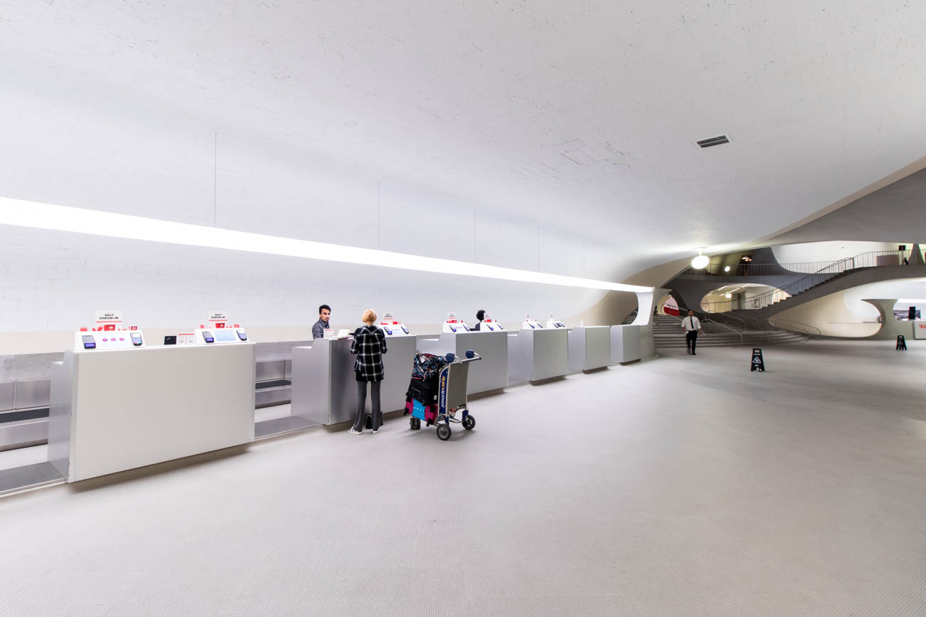 TWA Hotel Check-in Area